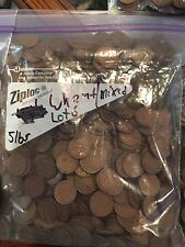 5 Pounds lbs of Unsearched Wheat Pennies - Penny Bag Lot 6