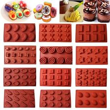 Silicone Cupcake Muffin Mold Chocolate Cake Candy Cookie Baking Mold Mould Pan