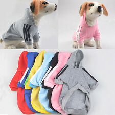 PET HOODIE COAT DOG JACKET WINTER CLOTHES PUPPY SWEATER CLOTHING APPAREL SMART
