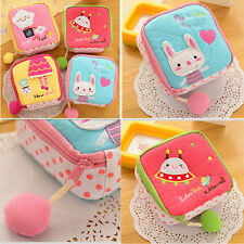 1Pcs Cute  Sanitary Napkin  Cartoon Pillows Small  NEW Girl  Fashion Towel Bag