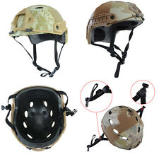 Fast Base Jump Airsoft Paintball Tactical Camo Protective Adjustable Helmet