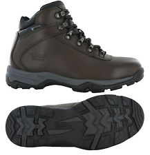 Hi-Tec Eurotrek III Leather Walking Hiking Waterproof Outdoor Boots Womens UK4-8