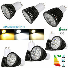 AU 3W -15W Dimmable GU10 MR16 GU5.3 LED SpotLight CREE/Epistar Bulb Bright Light