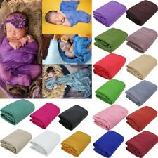 Newborn Baby Cheesecloth Wrap Blanket Maternity Swaddle Photo Photography Prop