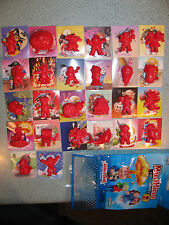 Garbage Pail Kids Series 2 Minikins Complete RED color 26 Set with Stickers GPK