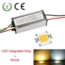 10/20/50W LED Driver Waterproof Alimenation High Power + SMD Chip Bulb Bead New