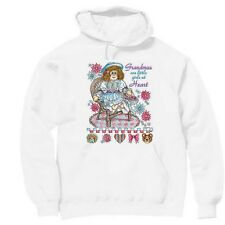 Pullover Hooded hoodie sweatshirt Family Grandmas are little girls at heart