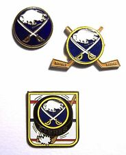 Vintage 1993 NHL BUFFALO SABRES Team Logo Lapel Pin - NEW! **CLEARANCE**
