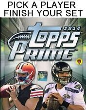 2014 Topps Prime Football Singles - Complete Your Set - We combine shipping