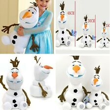"Cute 7""-18"" Olaf Snowman Doll Birthday Gift Plush Soft Stuffed Kids Baby Toys AU"