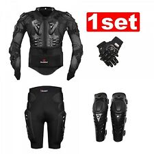 New Motorcycle Body Jacket Suit Moto Racing Protective Armor Full Clothing Set