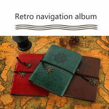 DIY Retro Leather Photo Baby Autograph Commemorative Graduation Album LN