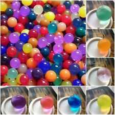 50pcs Water Plant Flower Jelly Crystal Soil Mud Water Pearls Beads Balls 10-12mm