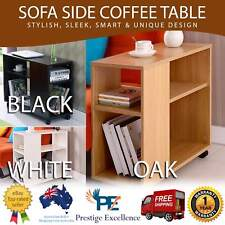 New Sofa Side Coffee Table Living Bedroom Telephone Tablet Book & Magazine Shelf