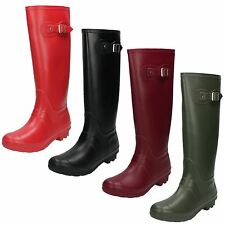 Ladies Spot On Wellington Boots - X1166
