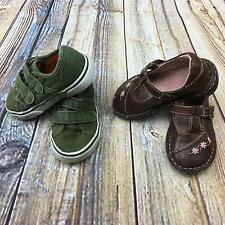 Shoes Toddler Girl Size 6 Baby Infant Brown Green Dress Casual Falls Creek Circo