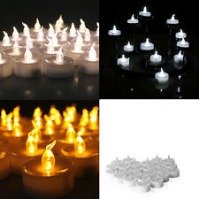 12 PCS Electronic Tea Light LED Candle Light for Valentines Day Wedding Party