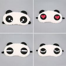 Cute Panda Sleeping Face Eye Mask Blindfold Shade Traveling Sleep Eye Aid SB