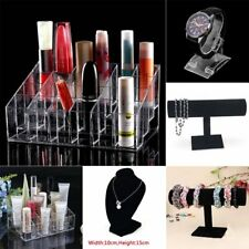 Clear 24 Makeup Cosmetic Lipstick Storage Display Stand Rack Holder Organizer WC