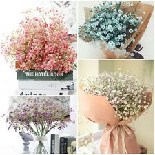 Artificial Baby's Breath Floral Silk Flowers Fake Wedding Decorations Home Decor