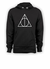 HARRY POTTER INSPIRED HOODIE - DEATHLY HALLOWS