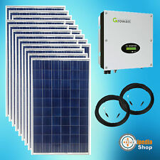 4500 Watts Photovoltaic system PV Solar optional WiFi Module and Roof mounting