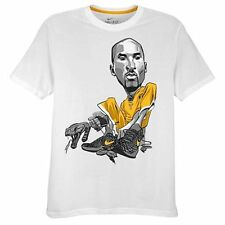 "Nike Kobe Bryant ""Comic"" Dri-Fit T-Shirt White Men's Large XL 2XL BNWT!"