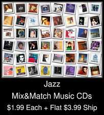 Jazz(3) - Mix&Match Music CDs @ $1.99/ea + $3.99 flat ship