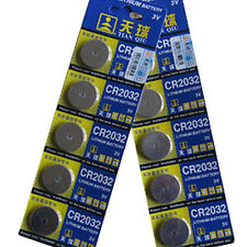 5X CR2025 CR2032 3V BATTERIES COIN CELL BUTTON FOR WATCH TOYS REMOTE UNUSUAL