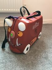 The Gruffalo Trunki Limited Edition Kids Ride-on Pull-along Suitcase.