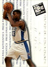 1998 Press Pass Authentics Hang Time #21 Nazr Mohammed
