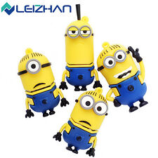 Cute Minions Model U Disk Pen Drive USB 2.0 Flash Drive 4GB-64GB USB Storage