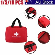 Portable Sports Camping Home Medical Emergency Survival First Aid Kit Bag AU1
