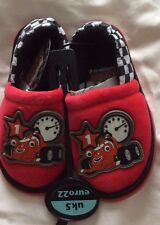 BNWT Roary The Racing Car Slippers - Size 4/21 or 5/22 infant
