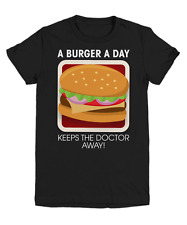 A Burger A Day Keeps The Doctor Away T-Shirt - Youth Tee