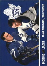 1995-96 (MAPLE LEAFS) Parkhurst '66-67 #145 Mahovlich/Pulford L