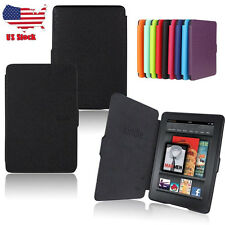 US New Ultra Slim Magnetic Leather Smart Case Cover For Amazon Kindle Paperwhite