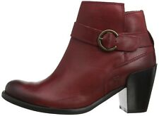 FLY LONDON Thy Ankle Boots Leather cordoba red 163012