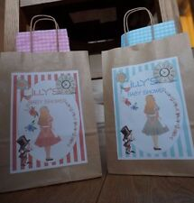 Alice in Wonderland Personalised Party Bags For Baby Shower, Birthday,Hen Party