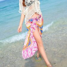 Sexy Womens Chiffon Bikini Summer Beach Swimwear Sarong Wrap Cover Dress Scarf