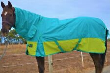 Rumani 1200D 200G Fill Winter Waterproof Breathable Turnout Horse Rug Combo
