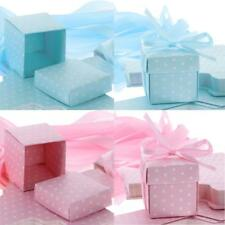 50pcs Square Dots Candy Boxes Gift Boxes Wedding Birthday Party Decorations