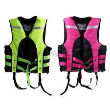 Adult Kids Safety Life Vest Jackets Buoyancy Aid for Boating Drifting Swimming