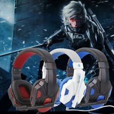 3.5mm Surround Stereo Gaming Headset Headband Headphone with Mic for PC JL