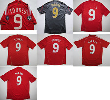 FC Liverpool #9 Torres 2006 2010 jersey camiseta shirt Adidas Spain S L M XL