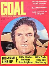 GOAL Football Magazine Cover Picture - VARIOUS (Lot 01)