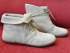 Clarks Womens Newlan City Active Air Grey Suede Leather Ankle Boots