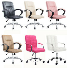 Leather Office Chair 360° Swivel Executive Office Furniture Computer Desk Chair