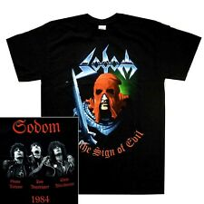 Sodom In The Sign Of Evil Shirt S M L XL XXL Thrash Metal Official Band T-shirt