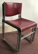 Shelby Williams Stack Metal Chairs